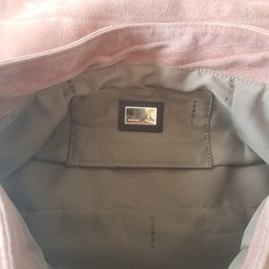Fendi Bags - 🌸 Fendi Pink Suede Chef Hobo Shoulder Bag